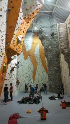 sport center HUDY lezecká stěna image